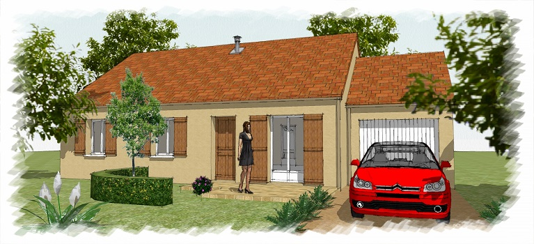 corbreuse offre terrain maison chenes annonces. Black Bedroom Furniture Sets. Home Design Ideas